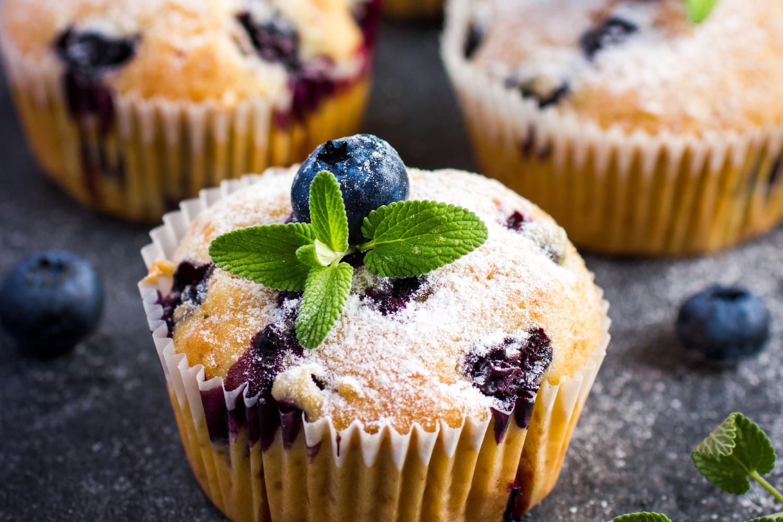 bezglutenowe muffiny