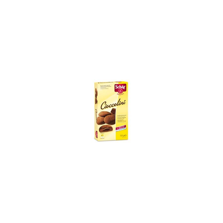 Schar CICCIOLINI  - ciastka z nadzieniem czekoladowym bezglutenowe
