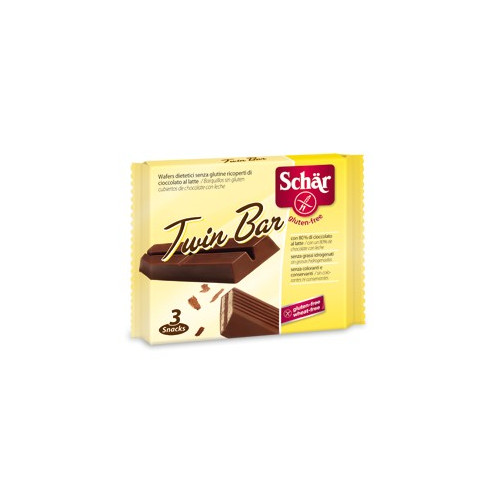 Schar TWIN BAR - wafelki w czekoladzie  bezglutenowe  (3 szt.)