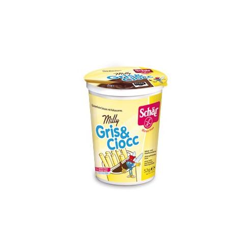 Schar MILLY GRIS&CIOCC - paluszki z kremem kakaowym bezglutenowe
