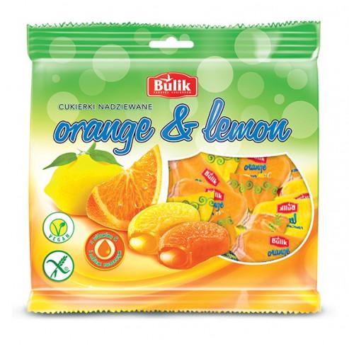ORANGE & LEMON - karmelki nadziewane likworem bezglutenowe