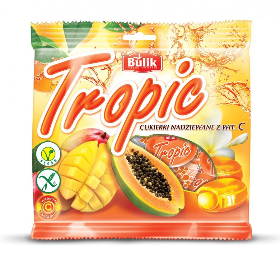 TROPIC - karmelki nadziewane syropem z Vit.C. bezglutenowe