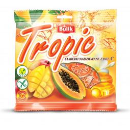 TROPIC - cukierki nadziewane z Vit.C bezglutenowe