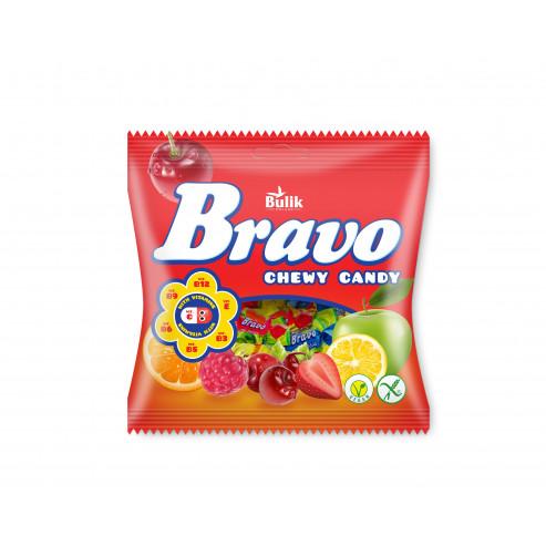 BRAVO - owocowe cukierki do żucia bezglutenowe