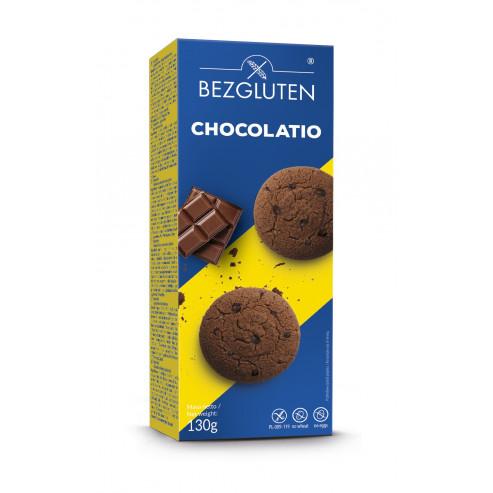 Chocolatio - czekoladowe ciastka. Produkt bezglutenowy.
