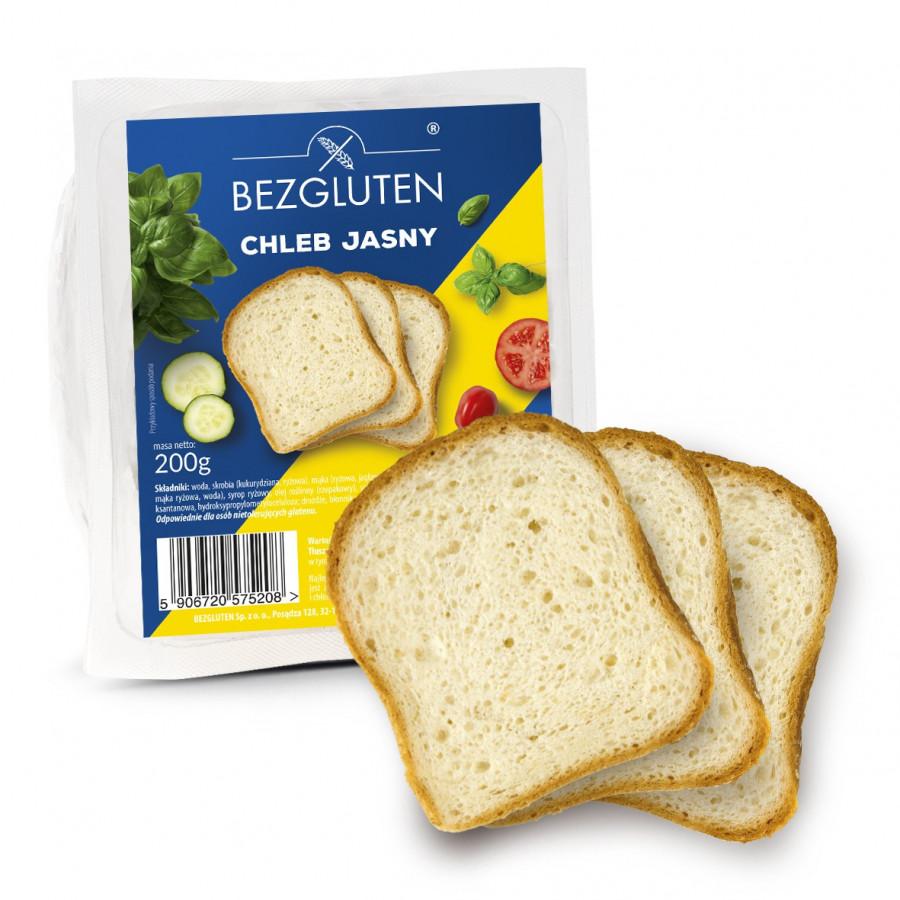 Chleb jasny 200g bezglutenowy NOWOŚĆ!!!
