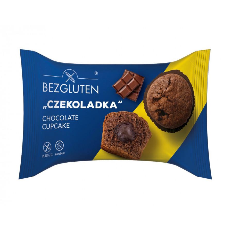 Czekoladka - babeczka kakaowa z nadzieniem czekoladowym