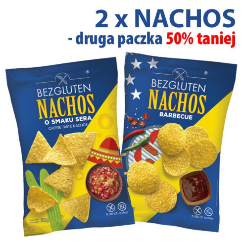 PAKIET NACHOS druga paczka 50 % taniej!