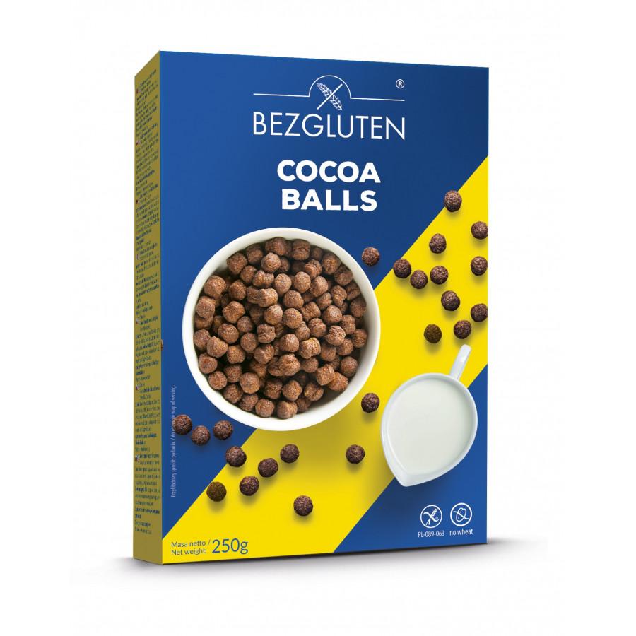 Cocoa balls - kulki kakaowe bezglutenowe