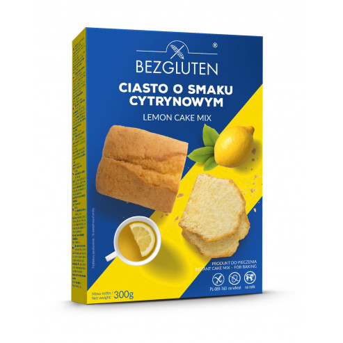 Cytrynowiec -  ciasto o smaku cytrynowym bezglutenowe /ciasto w proszku/