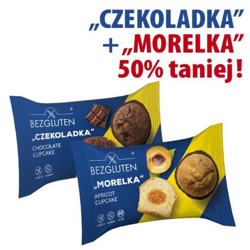 PAKIET CZEKOLADKA + MORELKA druga paczka 50% taniej