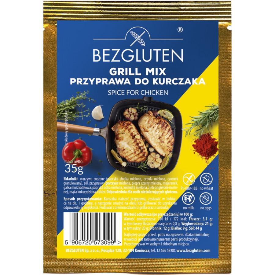 Grill Mix - przyprawa do kurczaka bezglutenowa