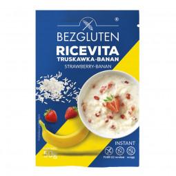 Ricevita truskawka-banan bezglutenowa 50g