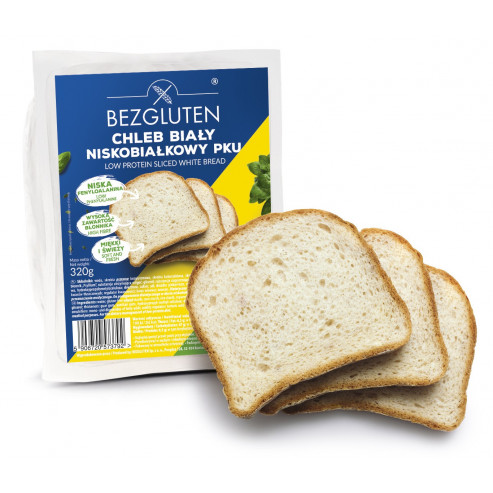 Chleb biały niskobiałkowy PKU