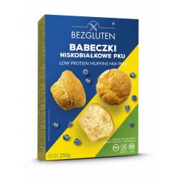 Babeczki niskobiałkowe PKU /ciasto w proszku/