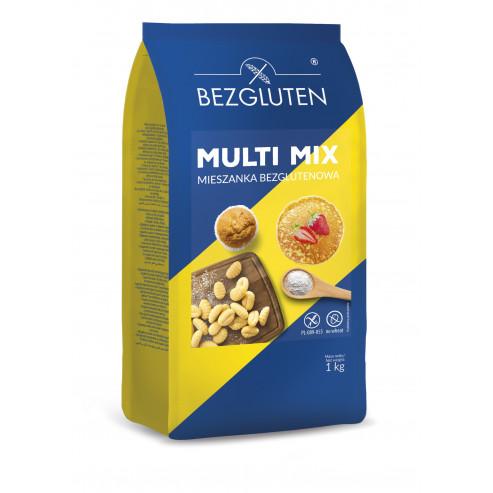MULTI MIX - mieszanka bezglutenowa do ogólnego zastosowania 1 kg. (na naleśniki, pierogi, kopytka, pączki, babeczki oraz ciasta)