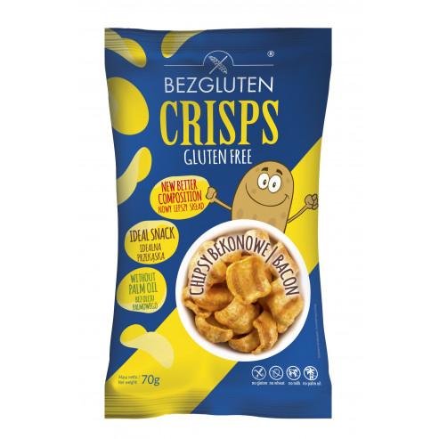 Crisps o smaku bekonowym bezglutenowe NOWOŚĆ!
