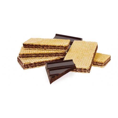 Wafelki z nadzieniem o smaku czekoladowym niskobiałkowe PKU.