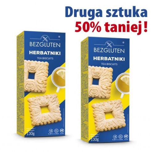 PAKIET HERBATNIKI - druga paczka 50% taniej