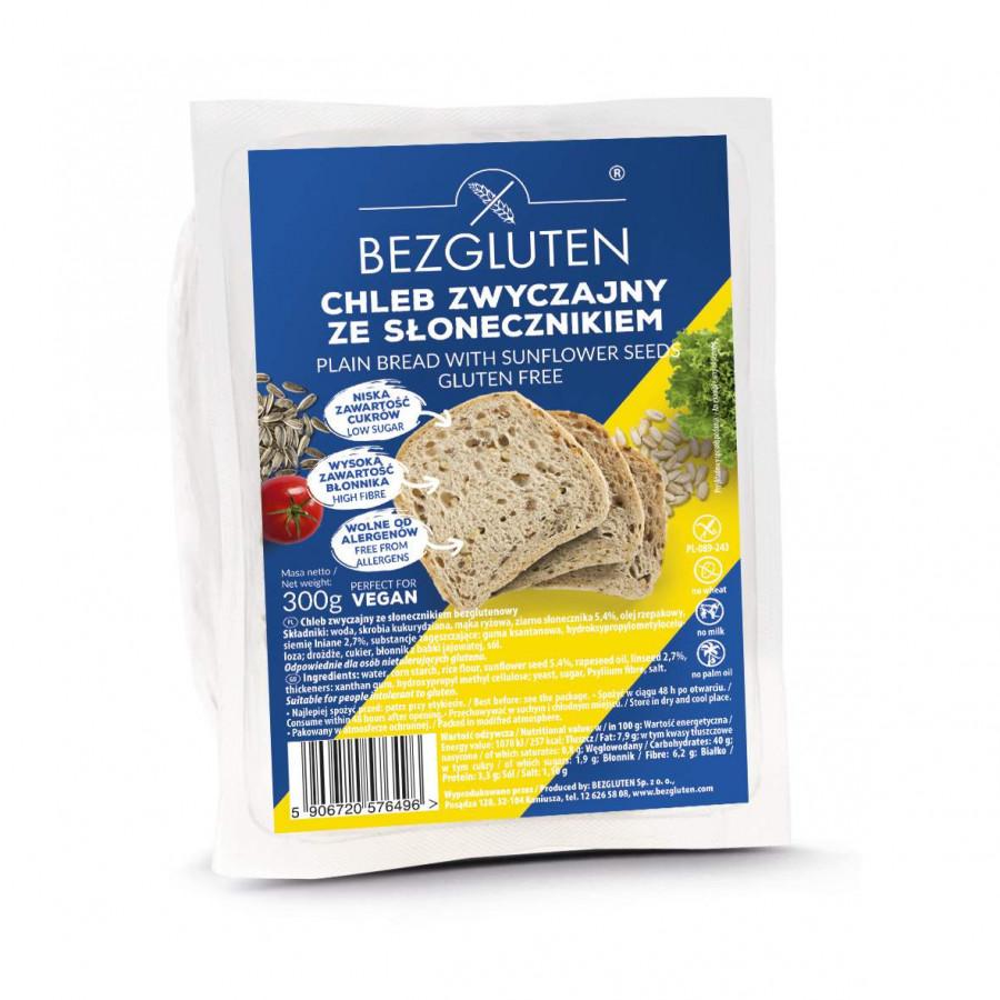 Chleb zwyczajny ze słonecznikiem bezglutenowy 300g