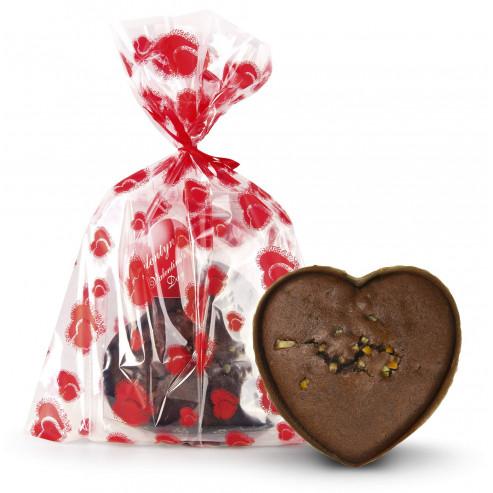 Serce czekoladowe z nutą pomarańczy bezglutenowe 160g