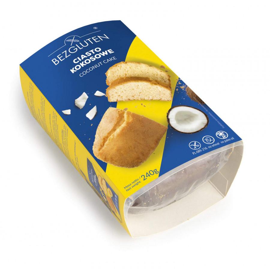 Ciasto kokosowe bezglutenowe 240g NOWOŚĆ!!!