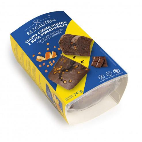 Ciasto czekoladowe z nutą pomarańczy 245 g