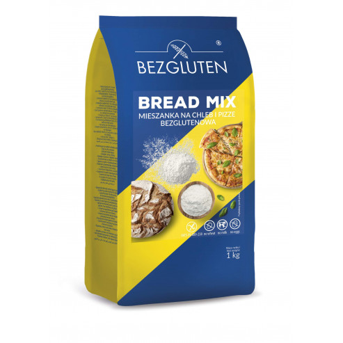 Bread Mix - mąka na chleb i pizze 1kg - NOWOŚĆ!