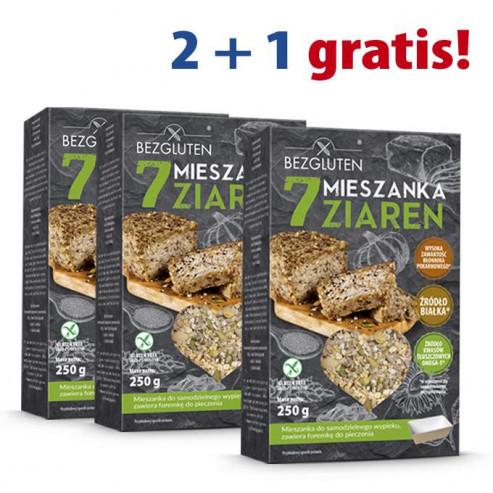 PAKIET 2+1 gratis Mieszanka 7 Ziaren 250g