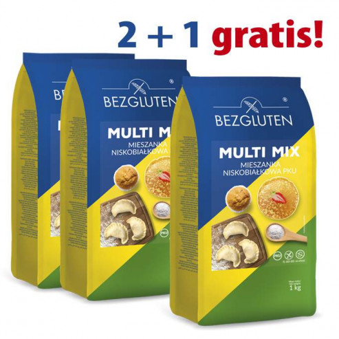 PAKIET 2+1 gratis Multi mix PKU - 3 x 1kg