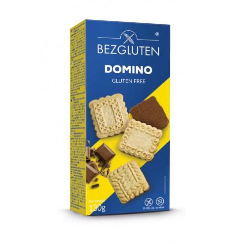 Domino wieloziarniste ciastka z mleczną czekoladą bezglutenowe 130g