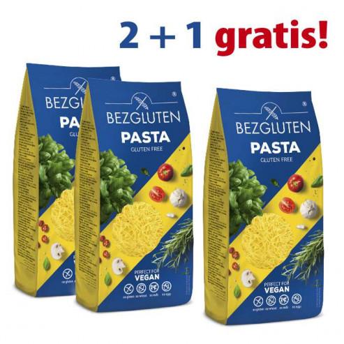 PAKIET 2+1 gratis Makaron FILINI (nitka cienka) bezglutenowy -3x250g