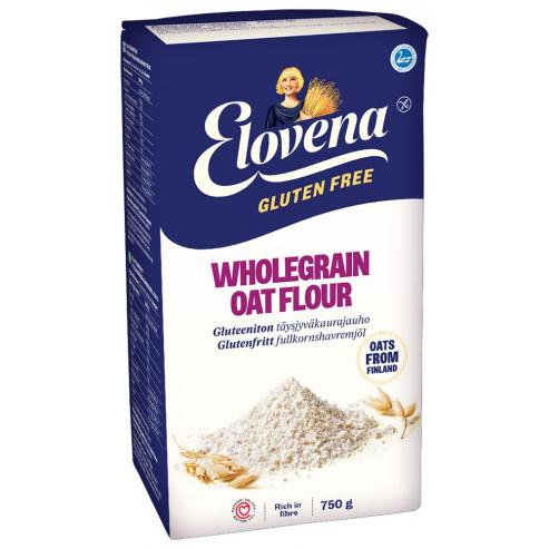 PAKIET 1+1 GRATIS ELOVENA - Mąka owsiana bezglutenowa 2x750 g